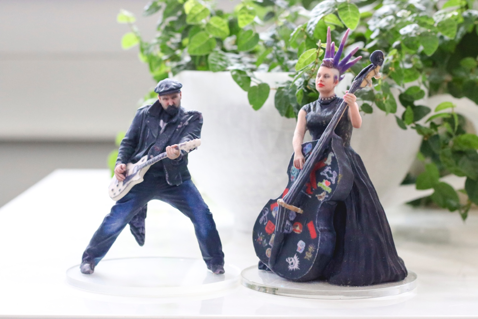 Custom 3D Cake Topper Toronto Band